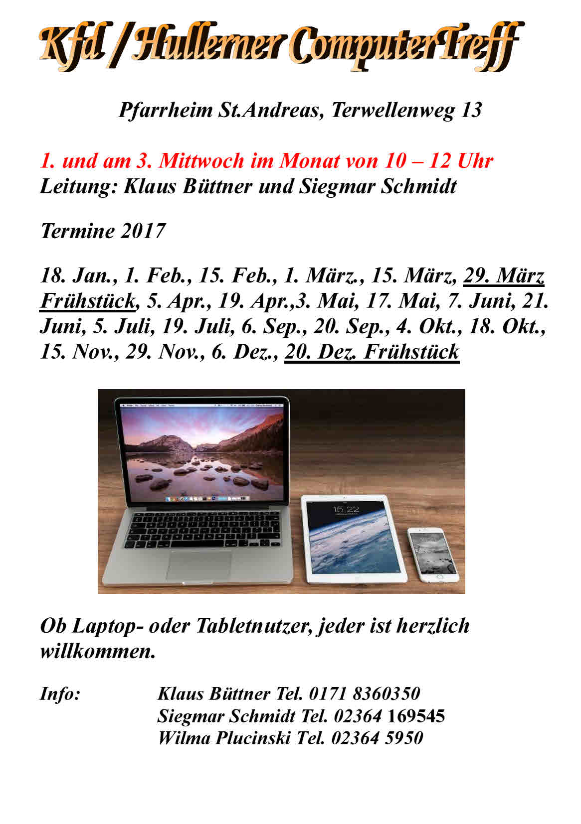Handzettel 2017 Computertreff
